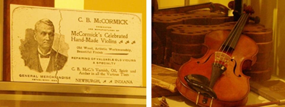 Handmade McCormick Violin