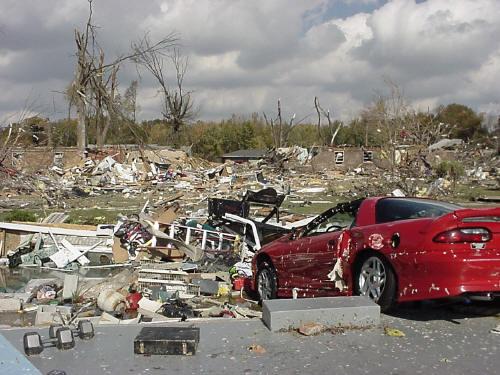 2005 Tornado – Newburgh Museum